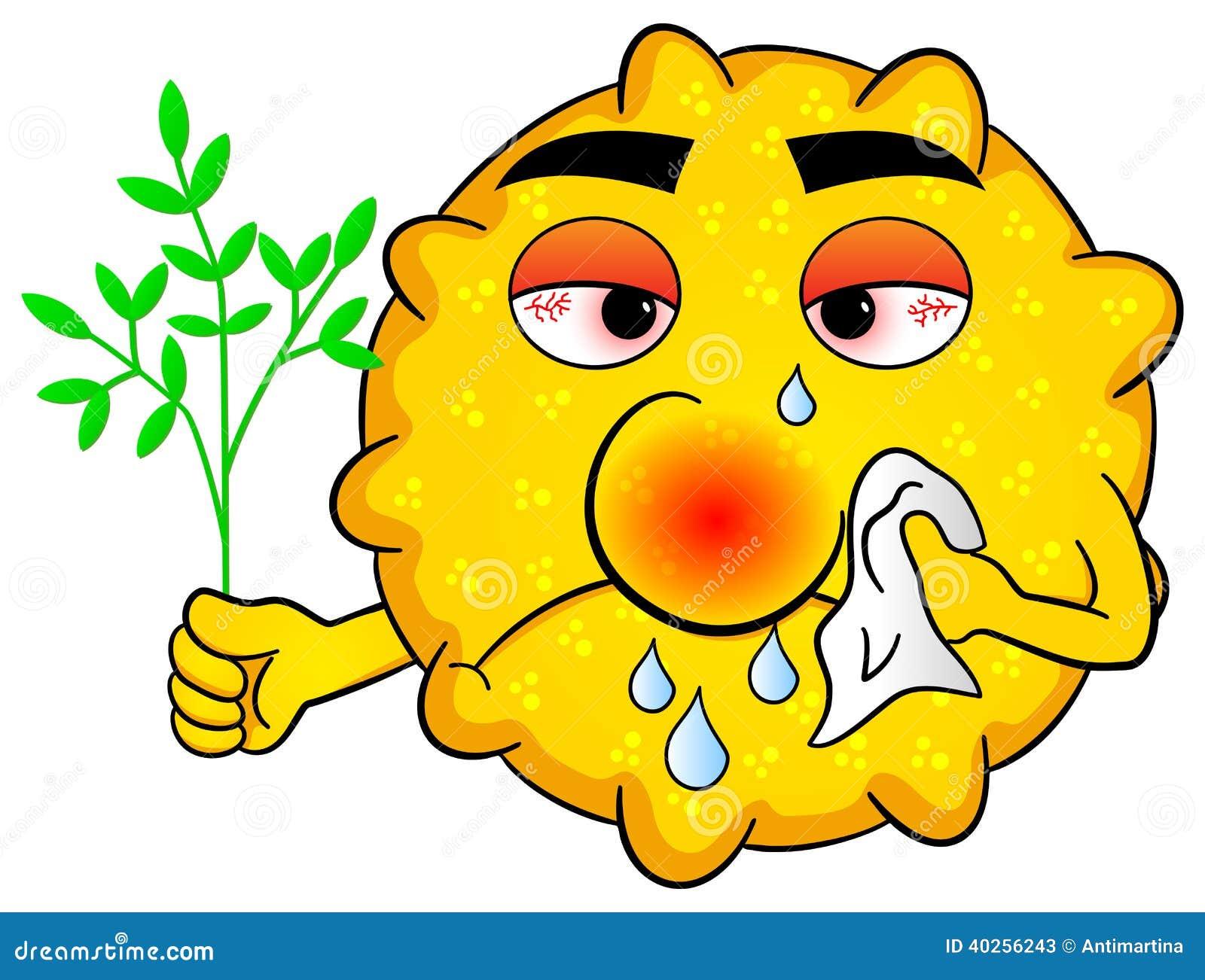 hooikoorts ziek