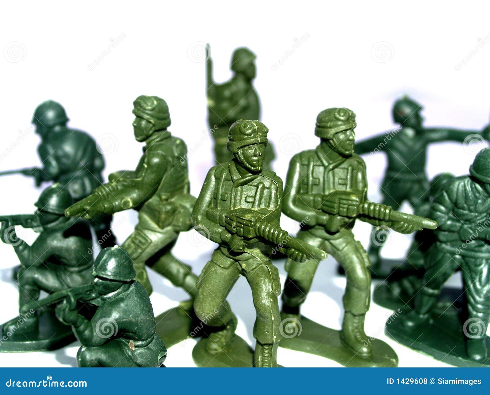 Stuk speelgoed 9 van de militair