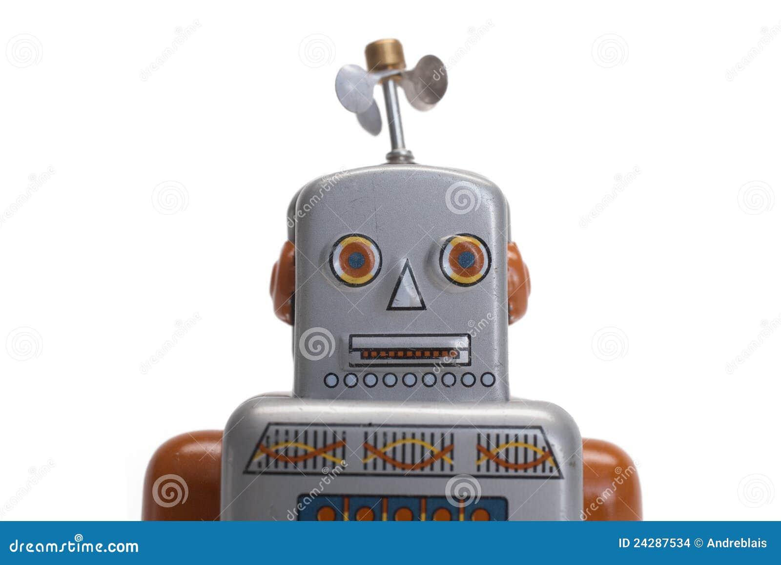 Stuk speelgoed robot