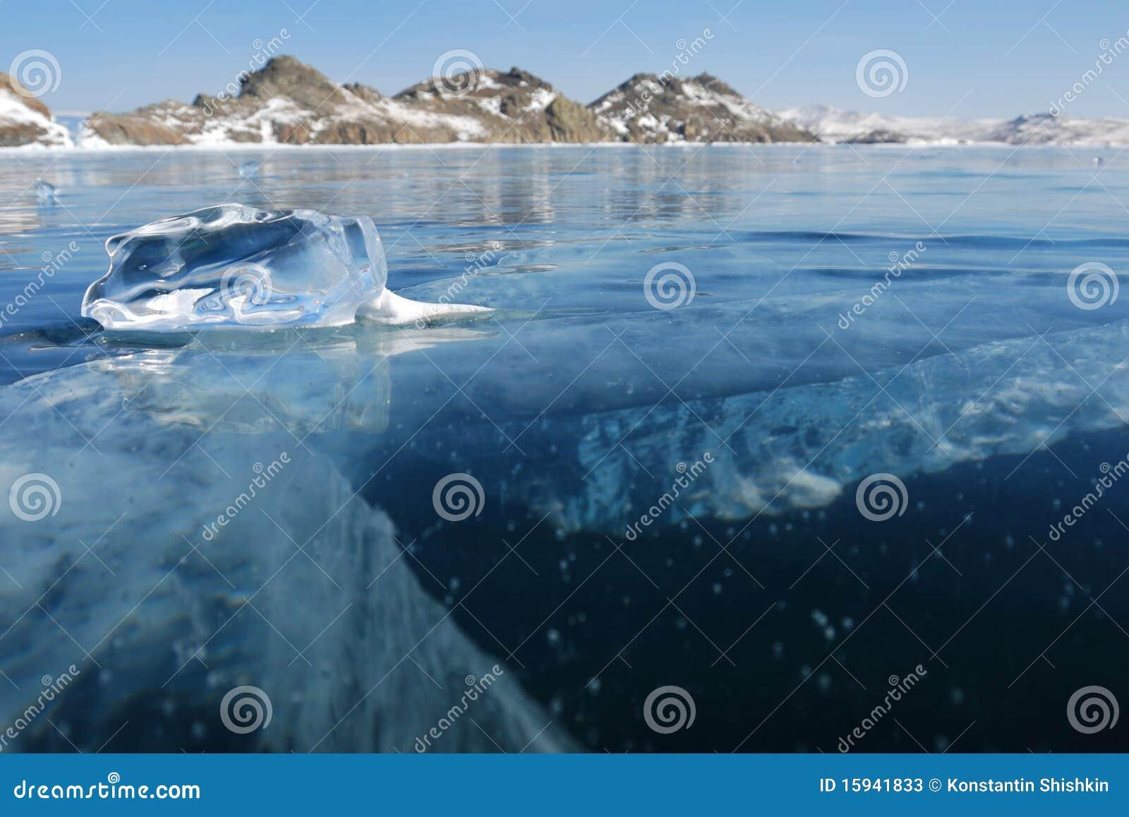 Stuk van ijs