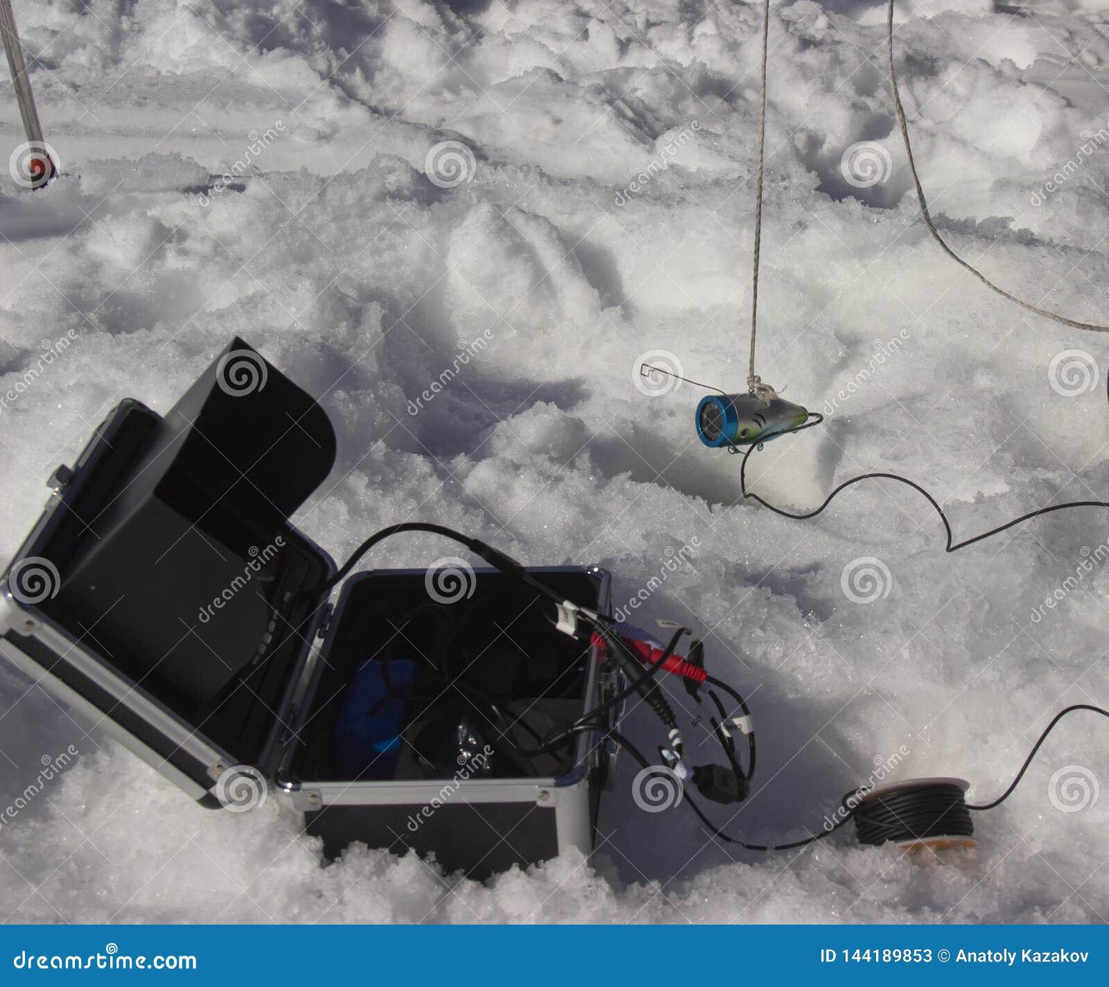 Stukawka dla łowić w zimie