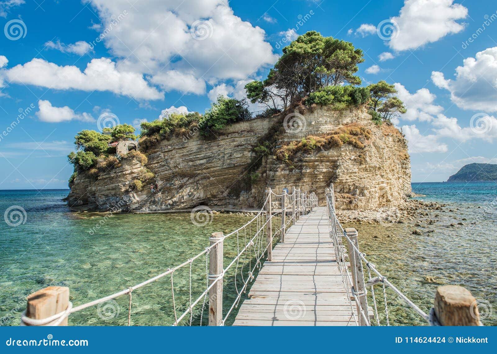 Stunning cameo island in Zakynthos