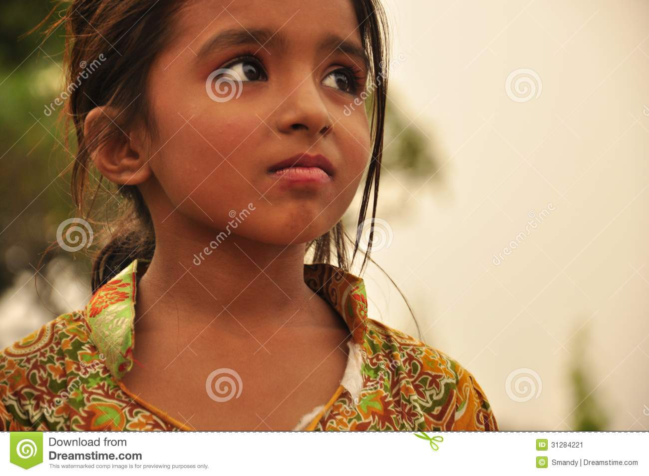Https Www Dreamstime Com Stock Image Stunning Look Indian Little Girl Beautiful Image31284221