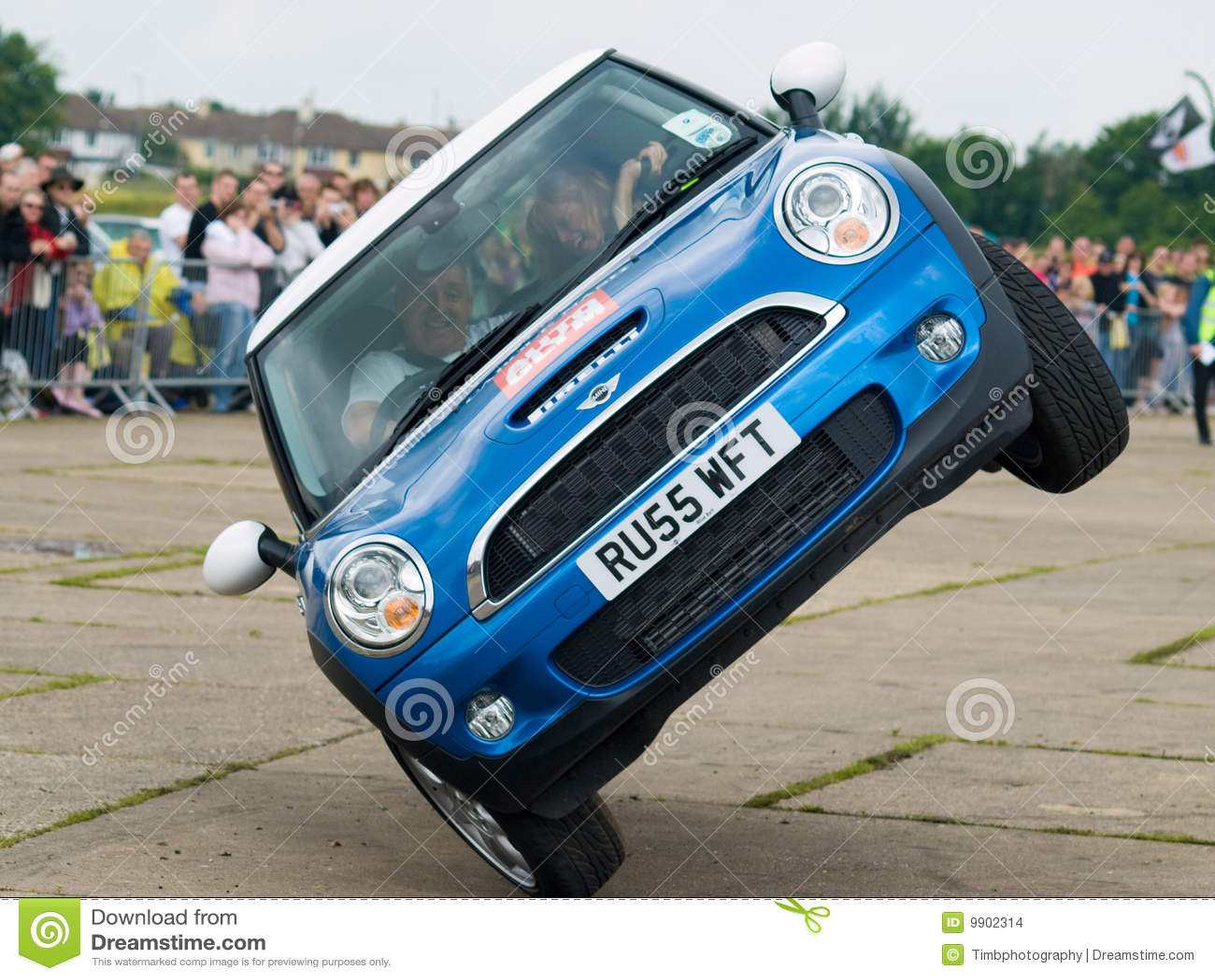 Sport Car Stunt Video