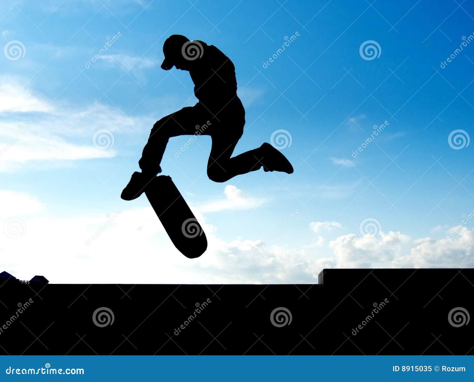 Stunt of skater