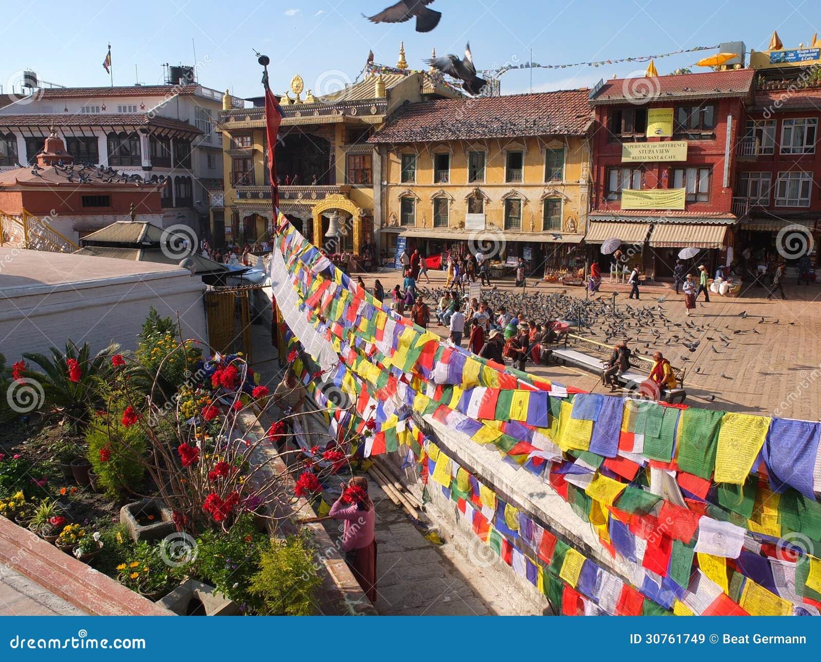 Stupa Bodnath, Nepal