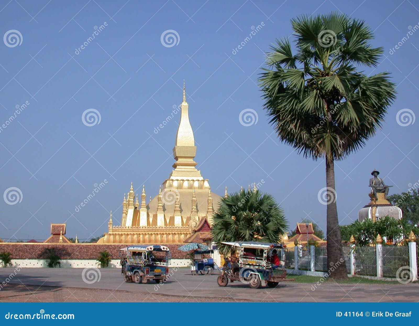 Stupa för 2 laos