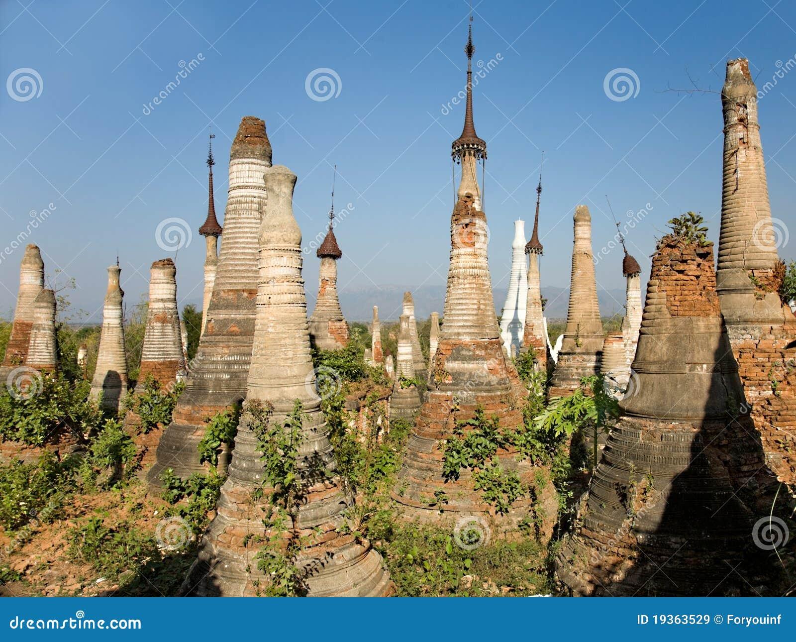 Stupas budista. Indein