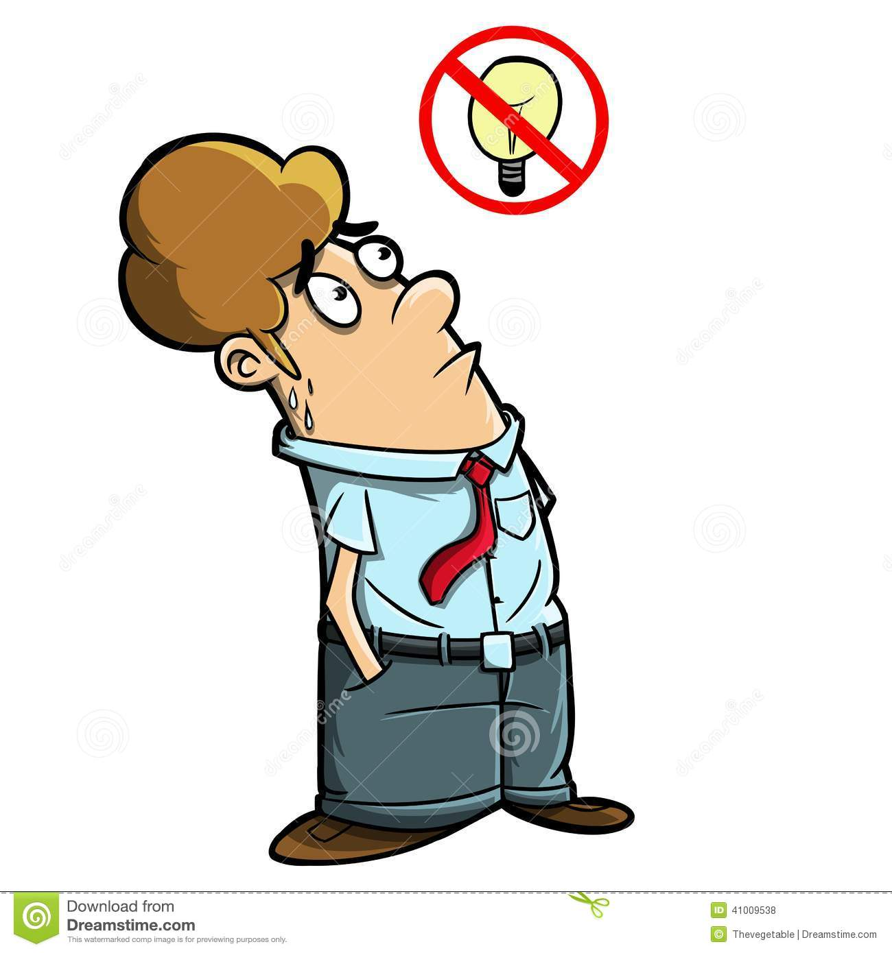 stupid man trying to think stock illustration image Tired Mother Clip Art Lunch Clip Art Black and White