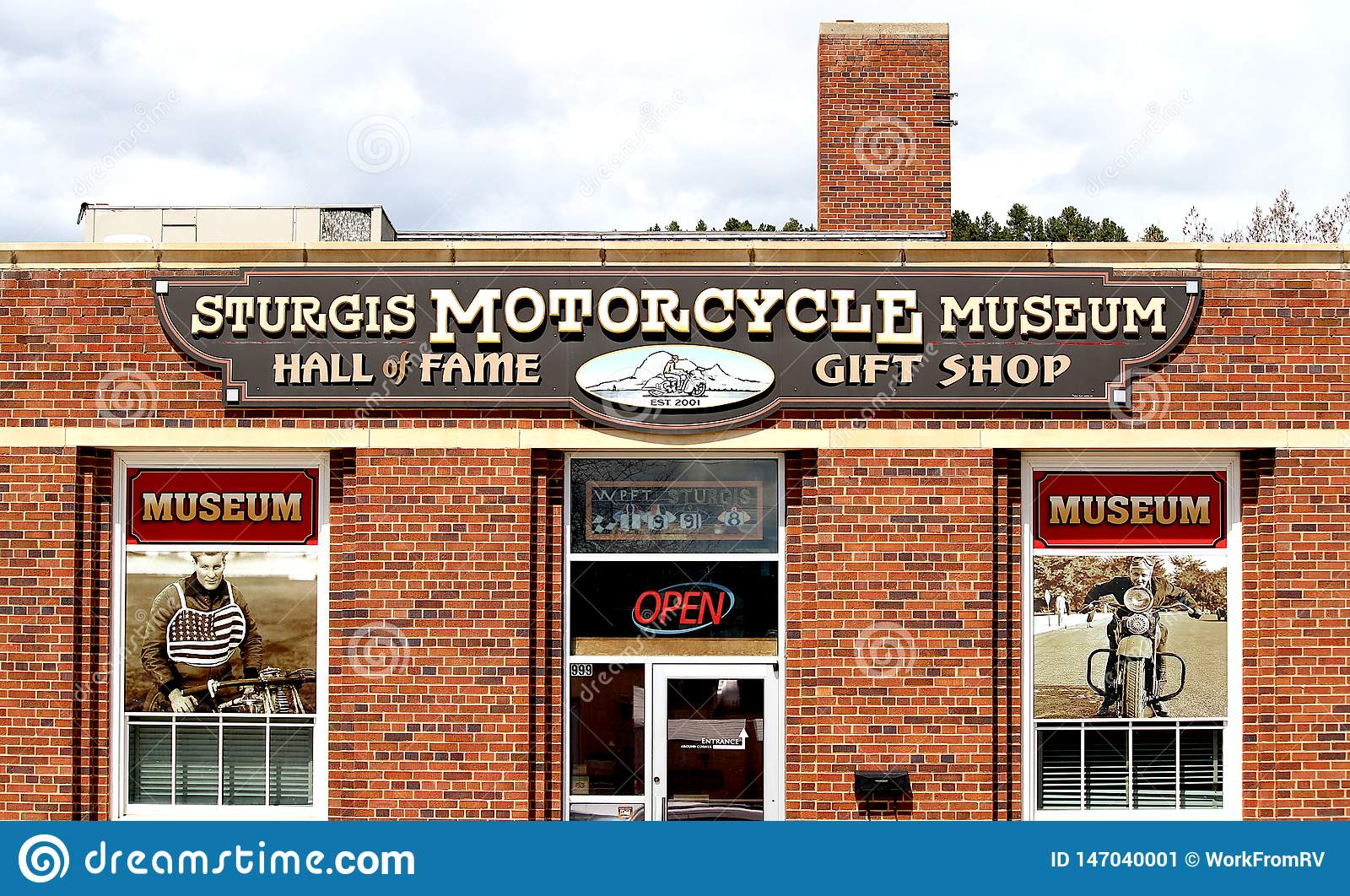Sturgis Motorcycle Museum and Hall of Fame.