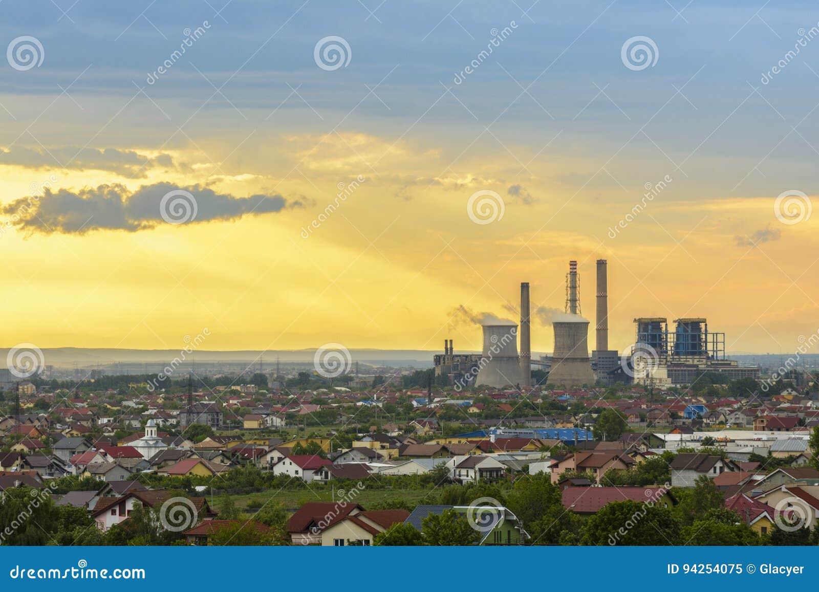 Sturmwolken über Craiova-Stadt