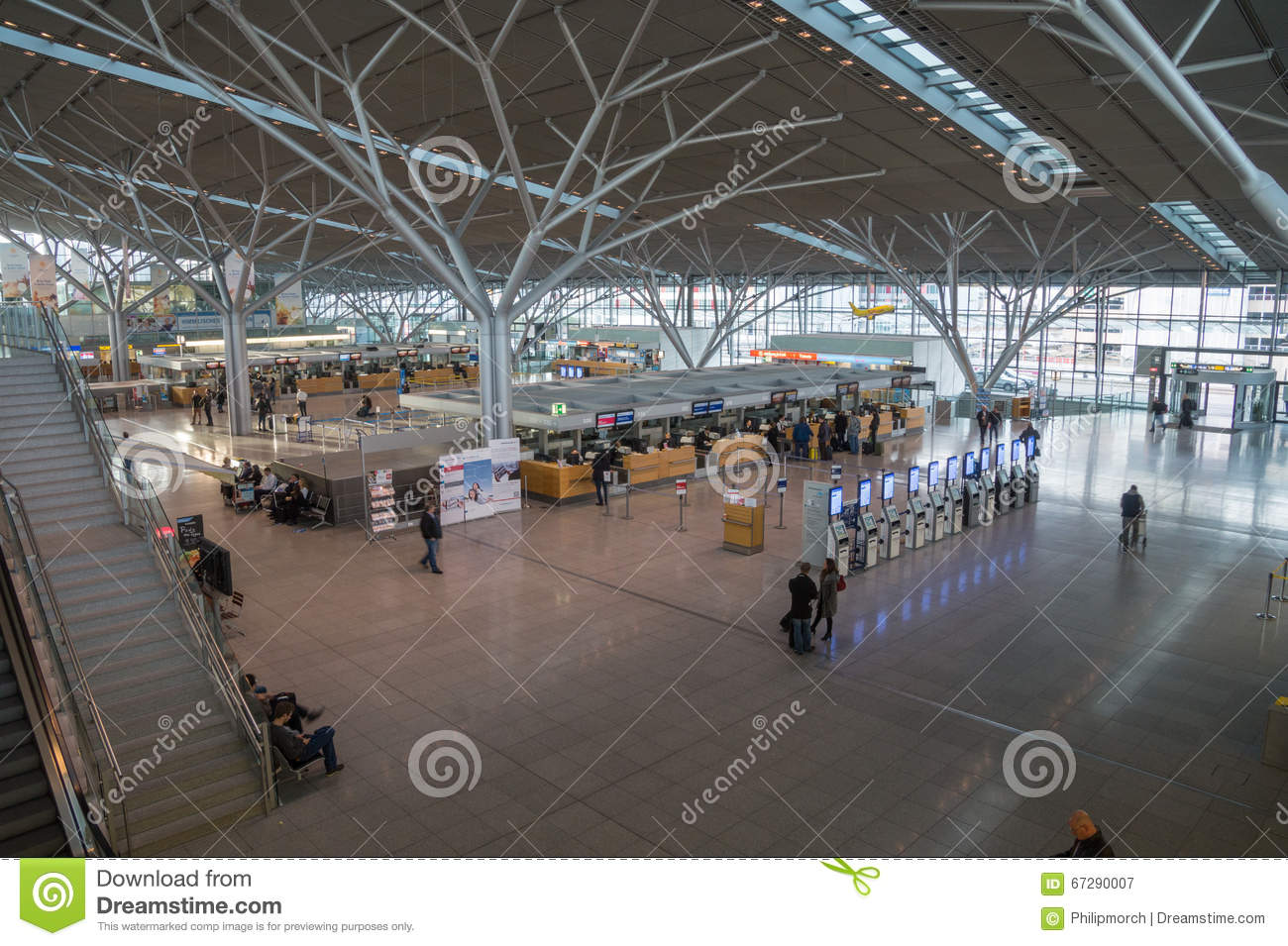 Stuttgart Airport, Germany Editorial Photography - Image ...