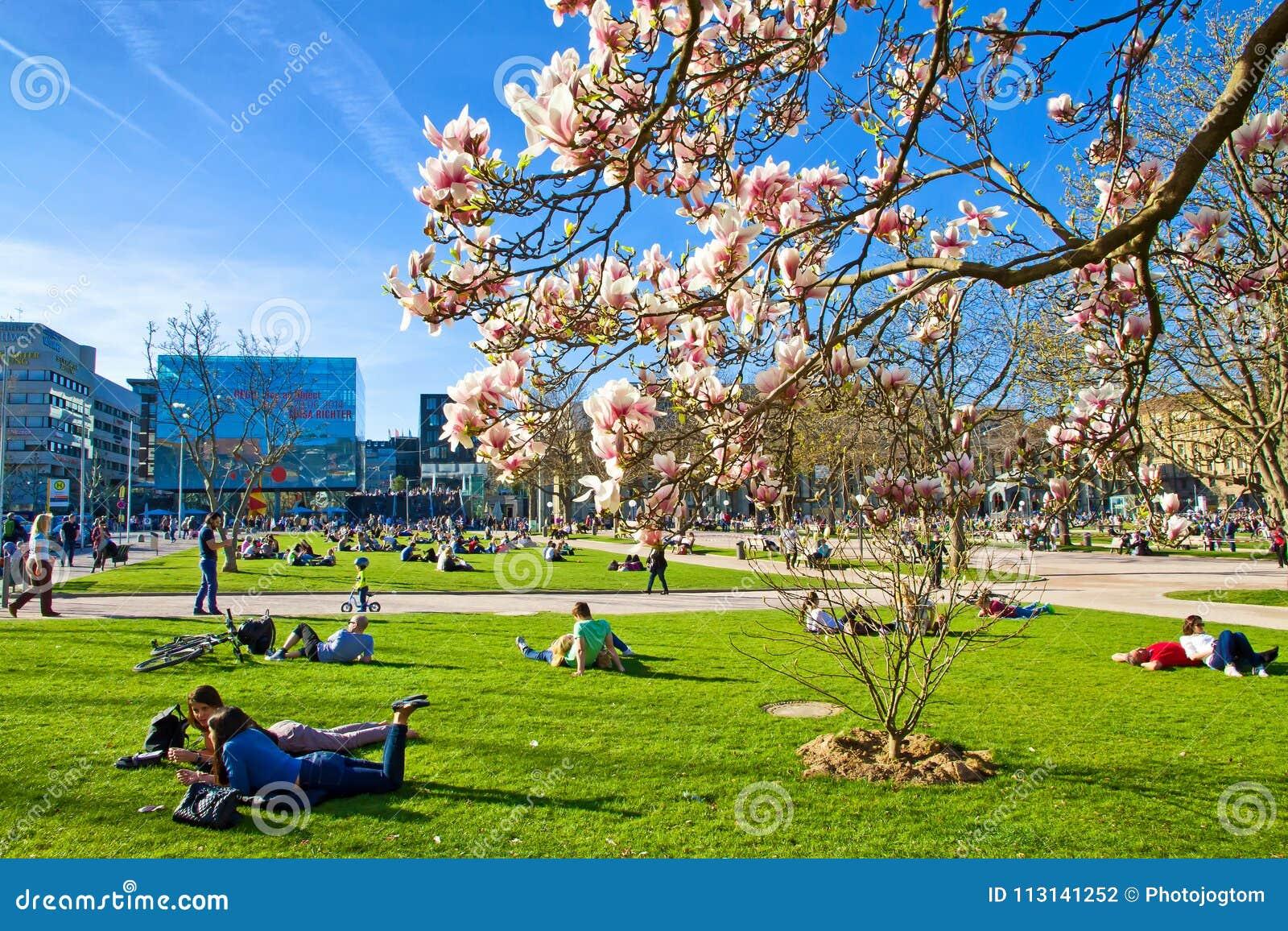 Stuttgart en primavera