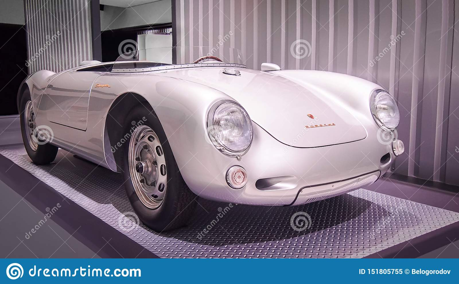 Porsche 550 Spyder `James Dean` Editorial Image , Image of