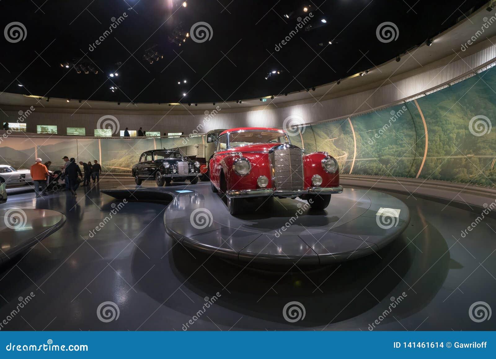 STUTTGART, GERMANY - DECEMBER 30, 2018: Interior of museum