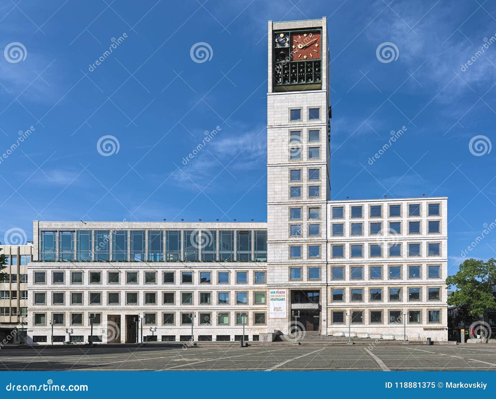 Stuttgart Town Hall, Germany