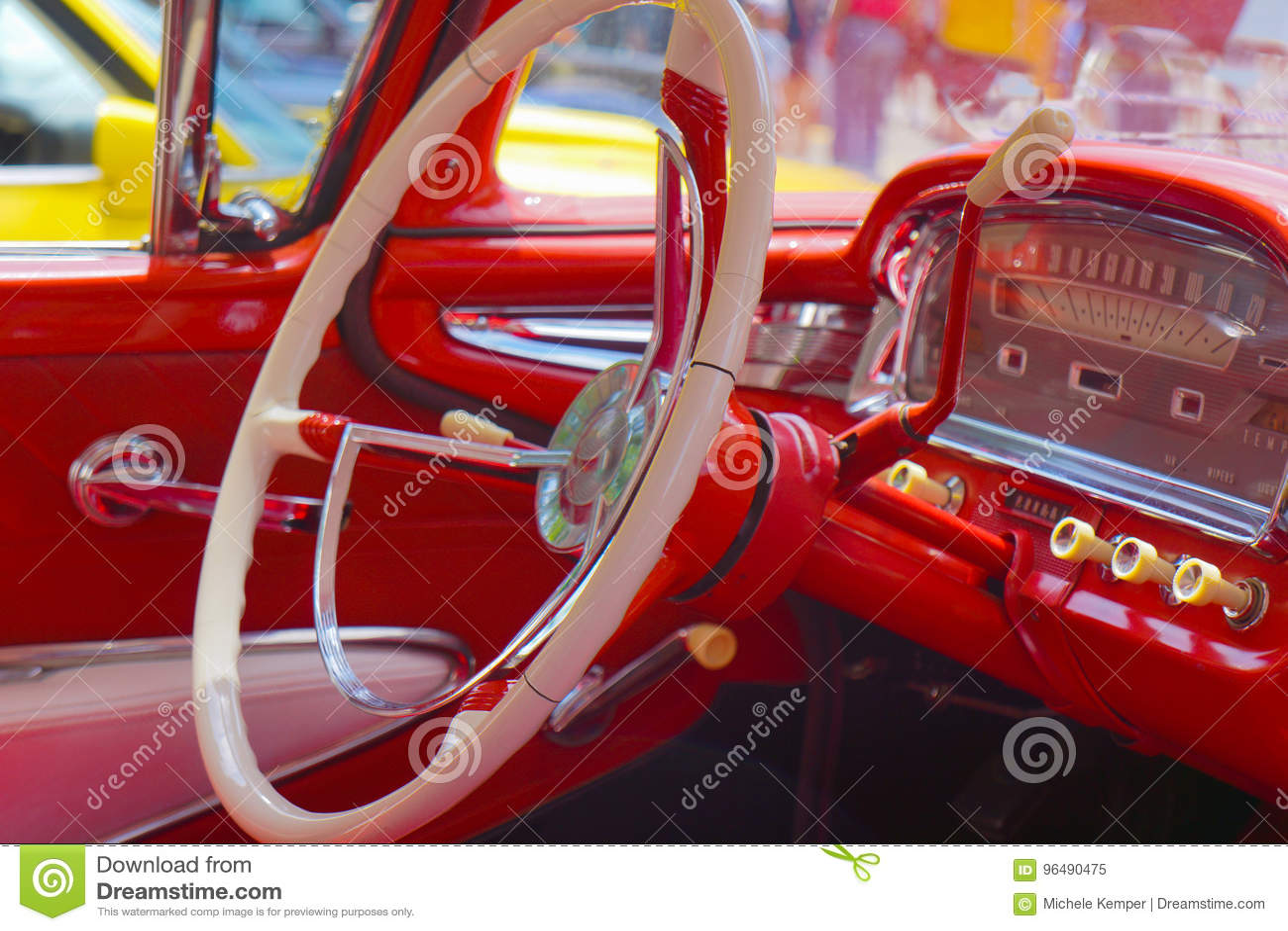 Stuurwiel Klassieke Auto