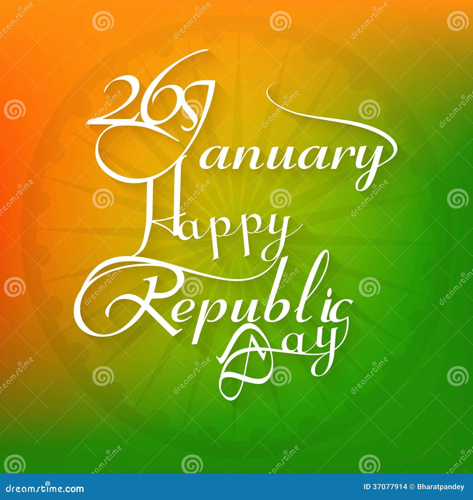 Download 26 Stycznia Pięknej Kaligrafii Republiki Dnia Szczęśliwy Tekst Ilustracji - Ilustracja złożonej z sztandar, siatka: 37077914