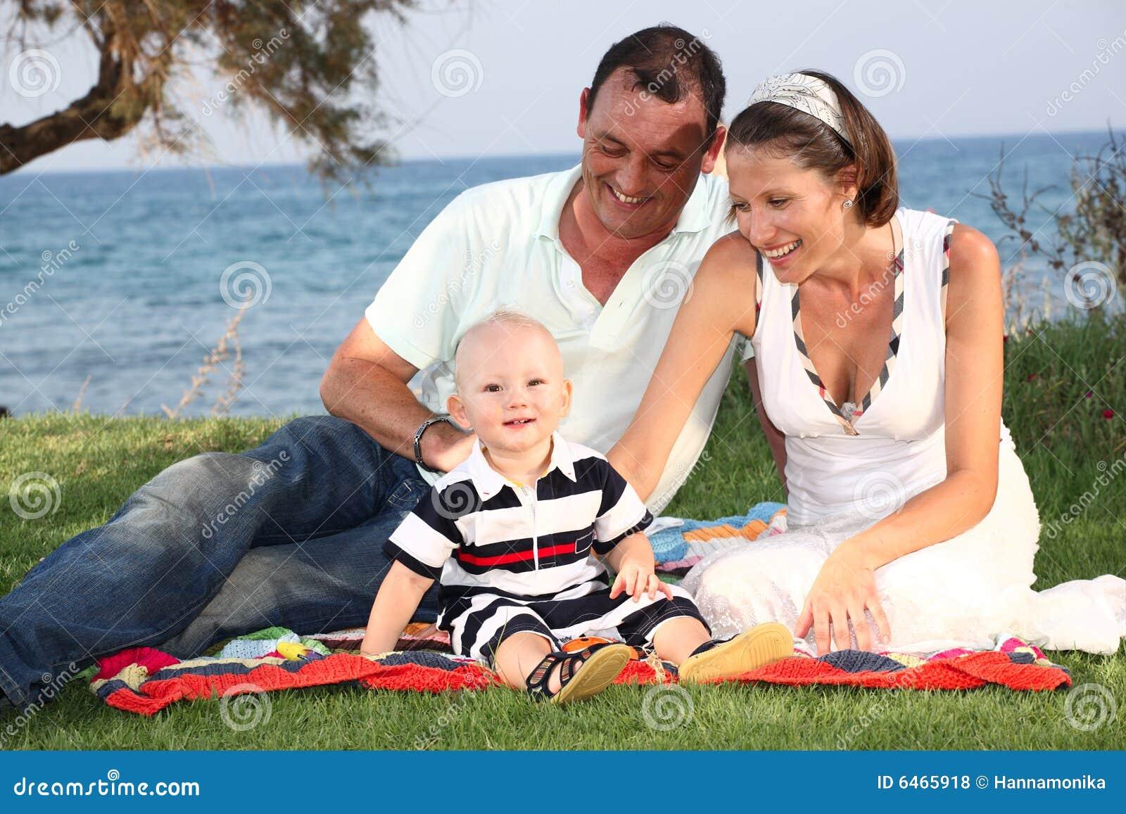 Styl życia portret rodzinny