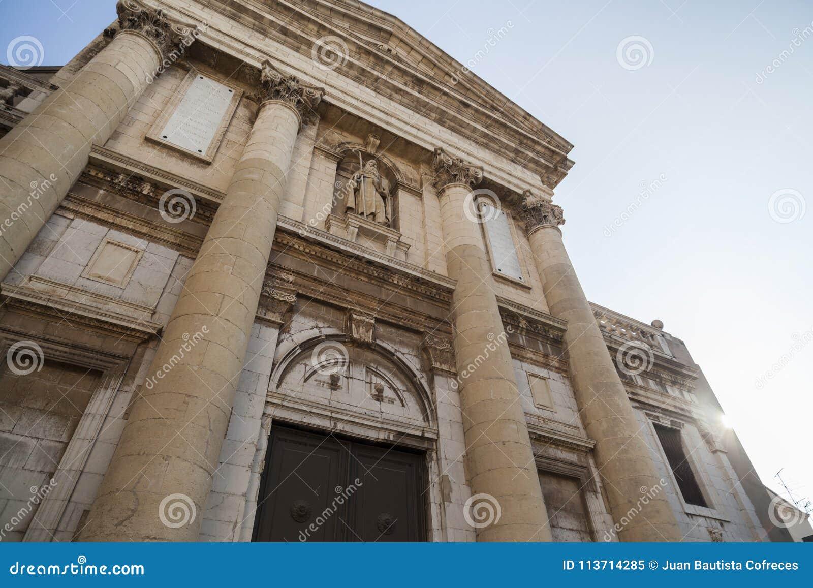 Style baroque et néoclassique d église de Sant Antoni Abad dans Vil