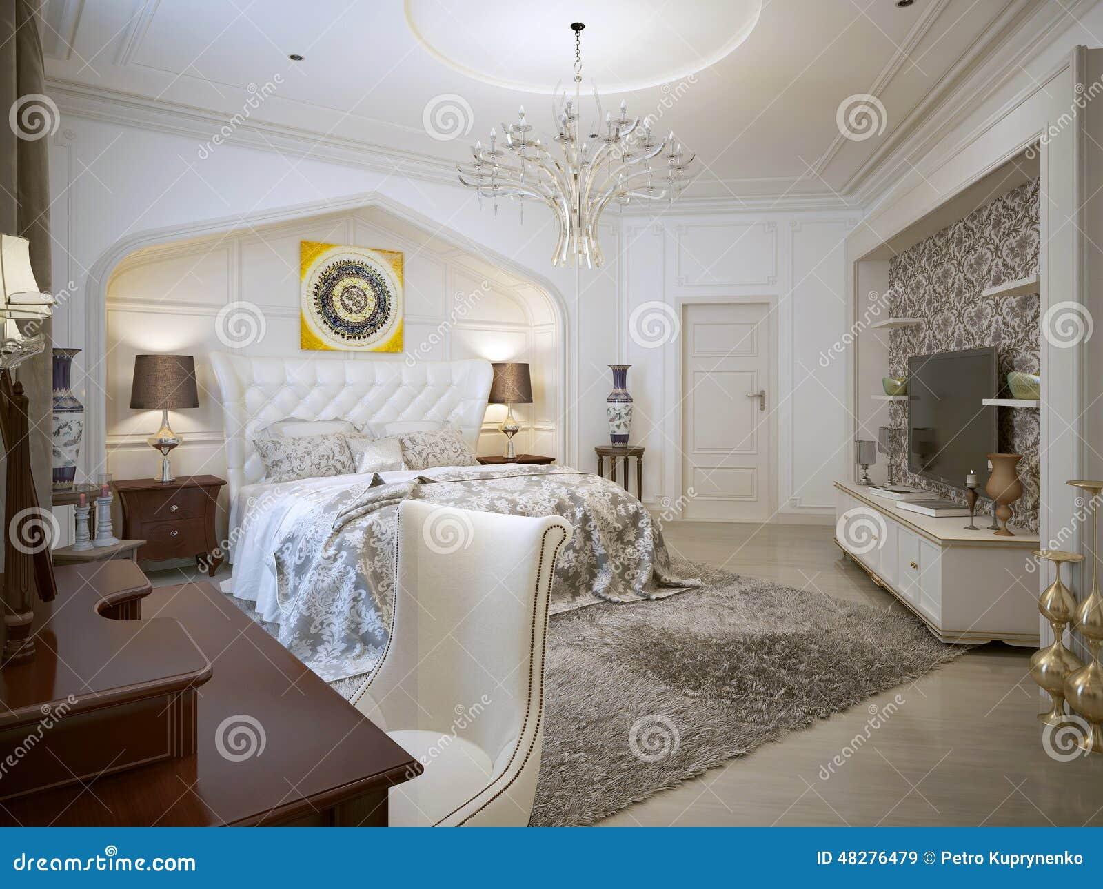 Style d 39 oriental de chambre coucher illustration stock - Chambre style oriental ...