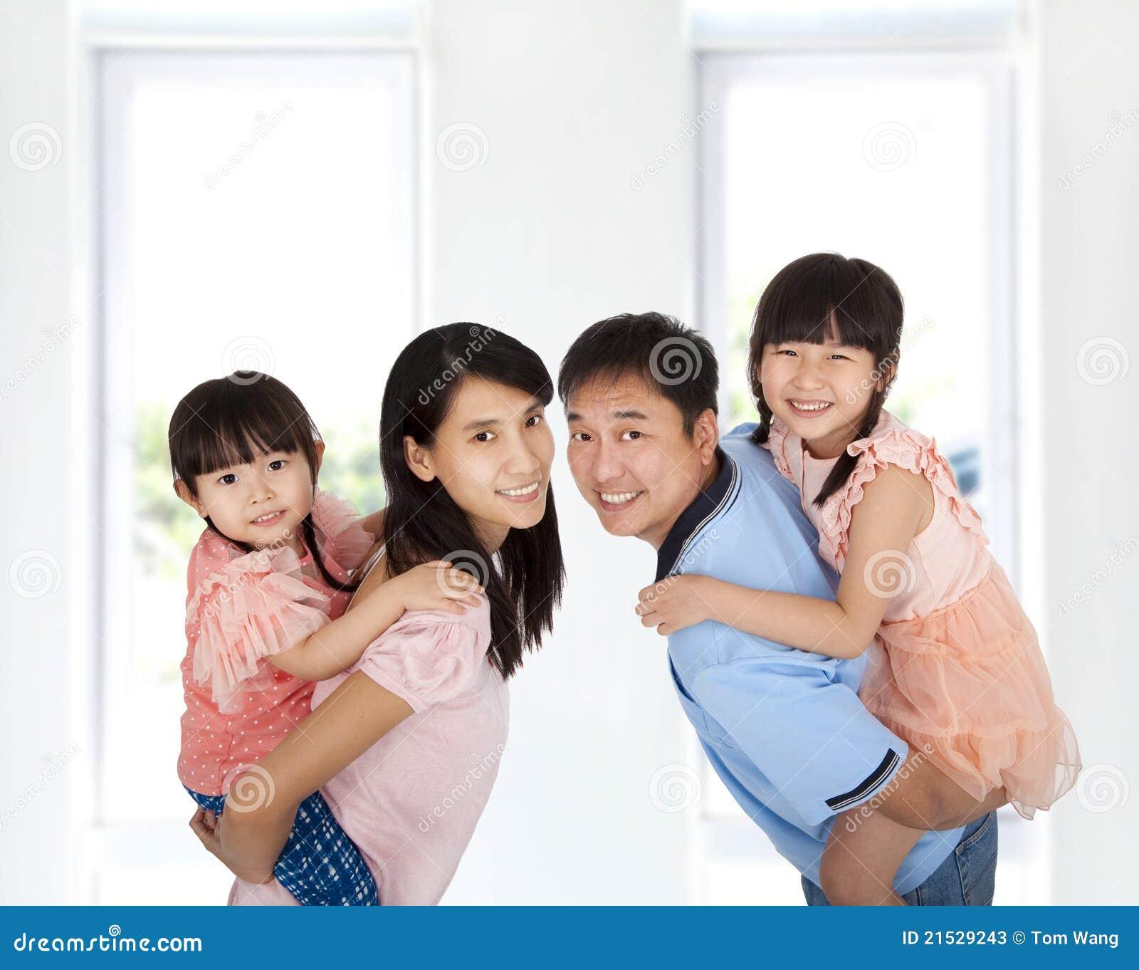 Style de vie heureux de famille