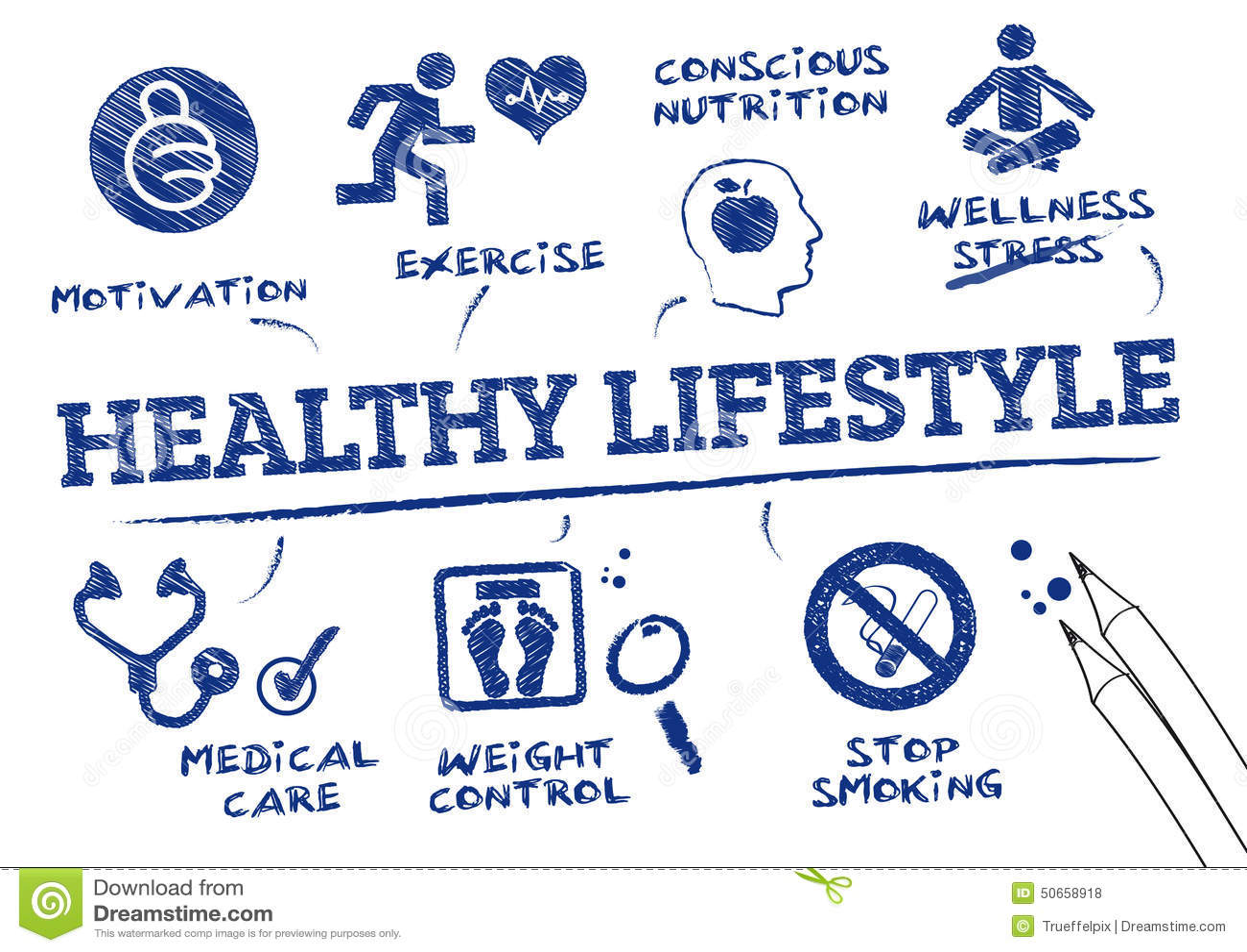 mode de vie sain et actif