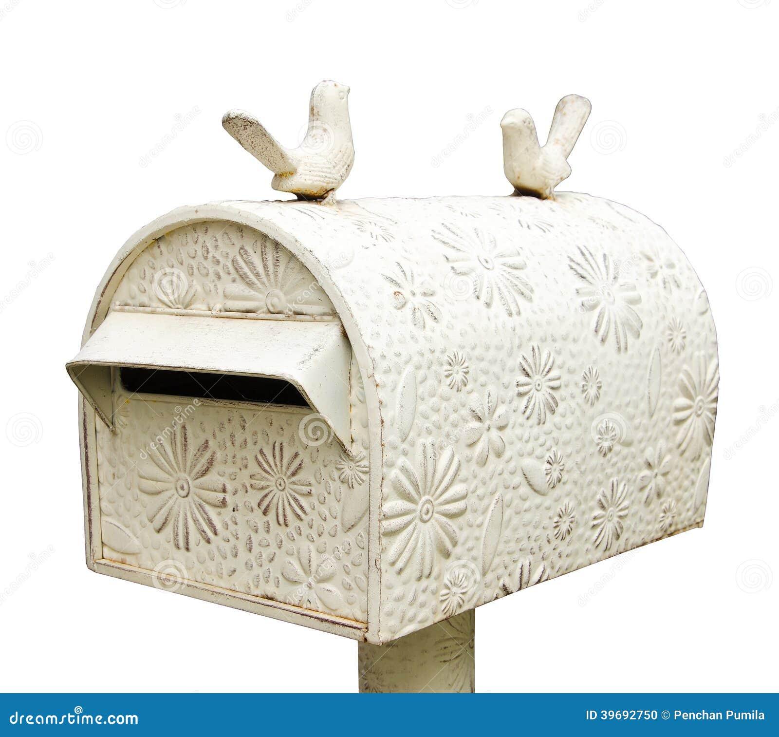 style de vintage de bo te aux lettres photo stock image 39692750. Black Bedroom Furniture Sets. Home Design Ideas