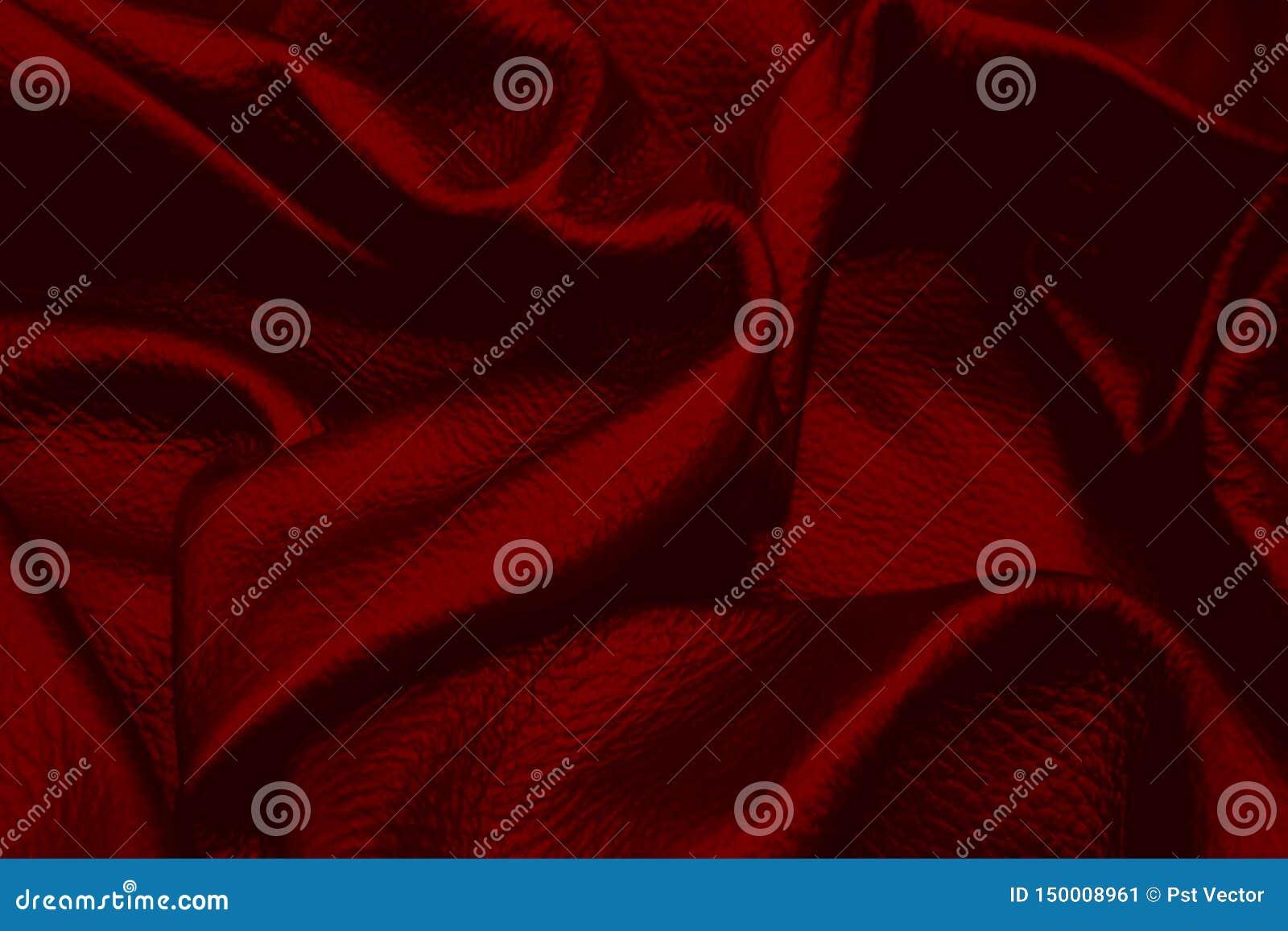 Style en cuir rouge de cru de fond de texture pour la conception graphique