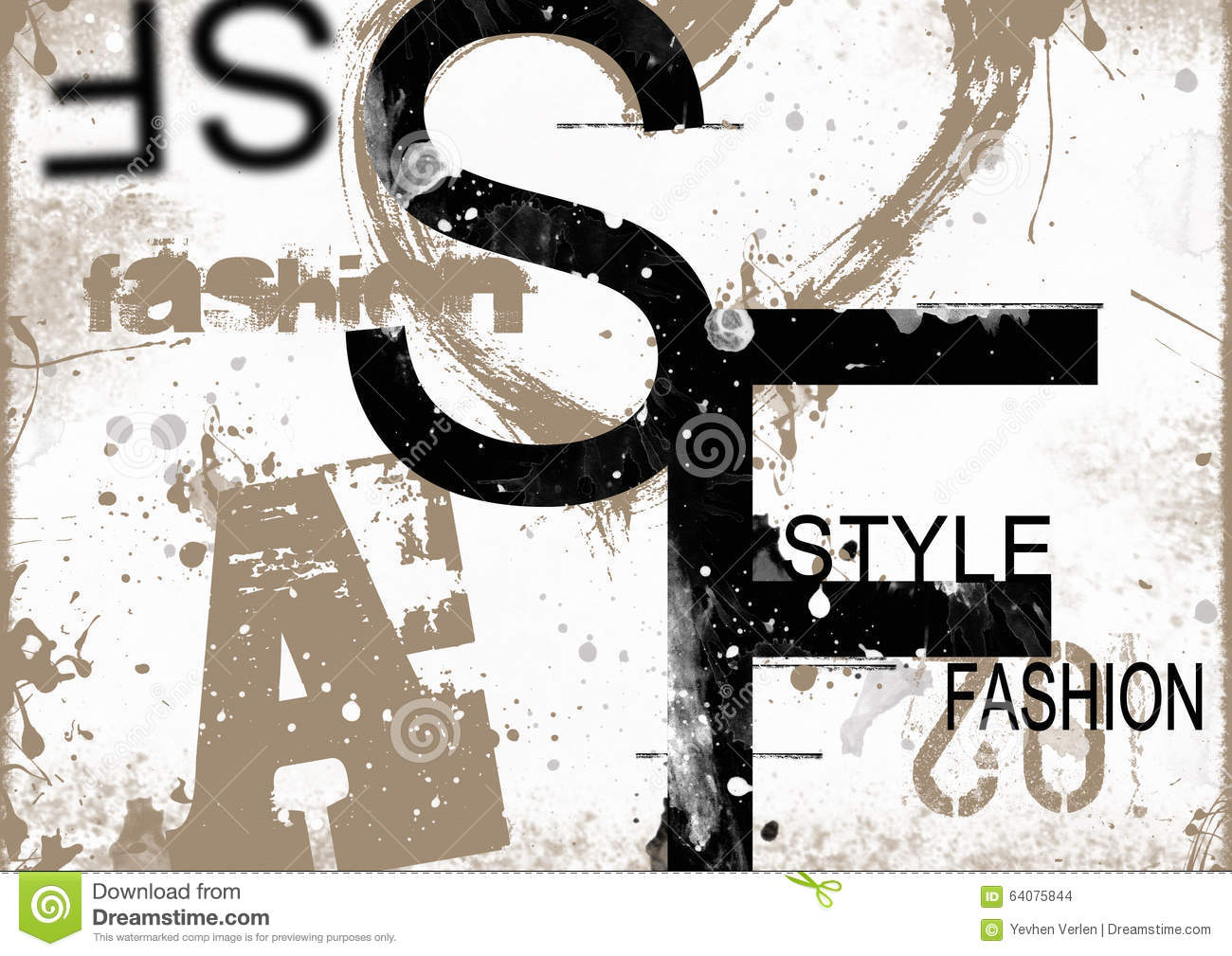 Style And Fashion Word Cloud Concept Stock Illustration Image 64075844