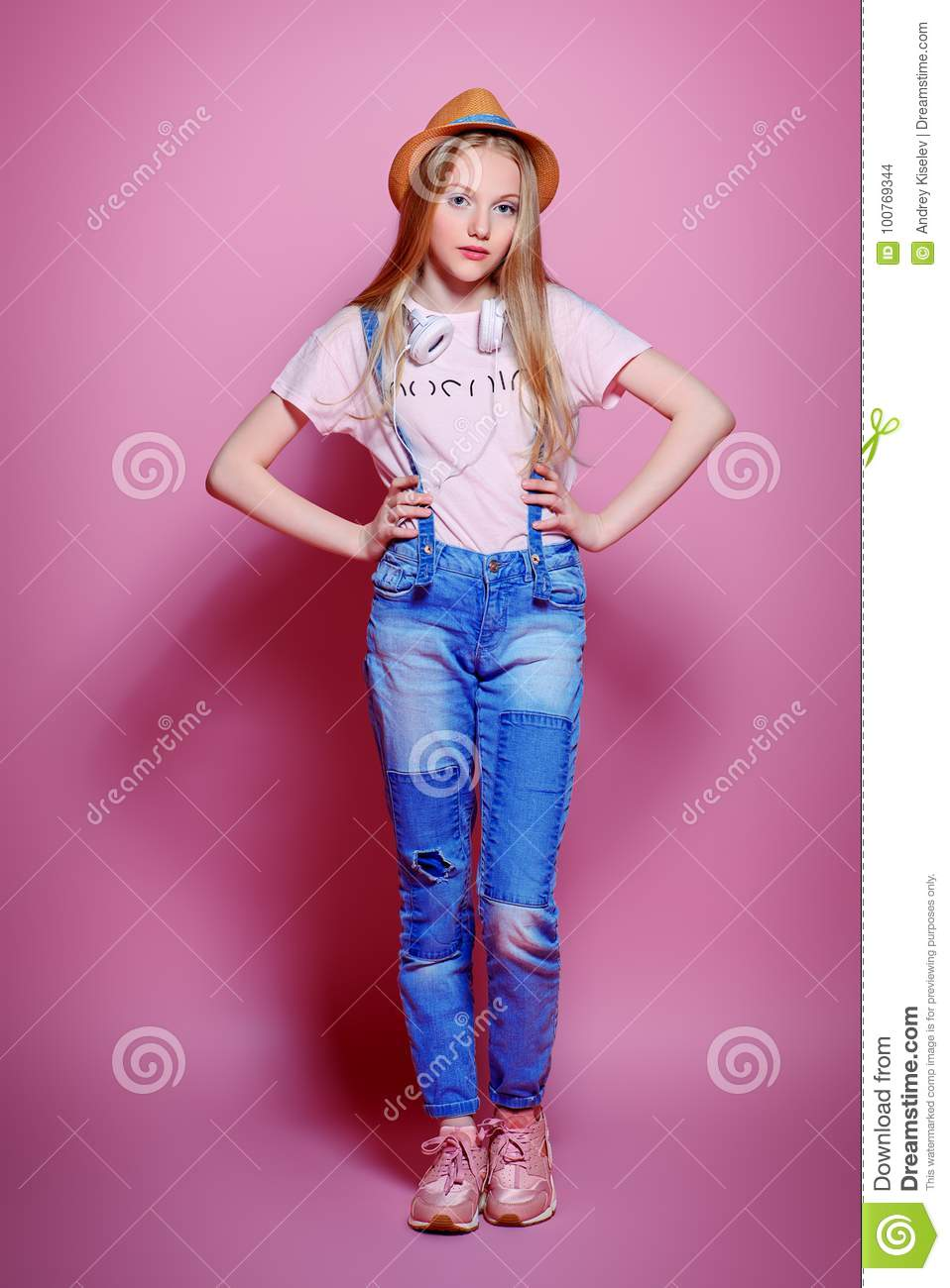 Style For Girls Stock Photo Image Of Background Adolescent 100769344