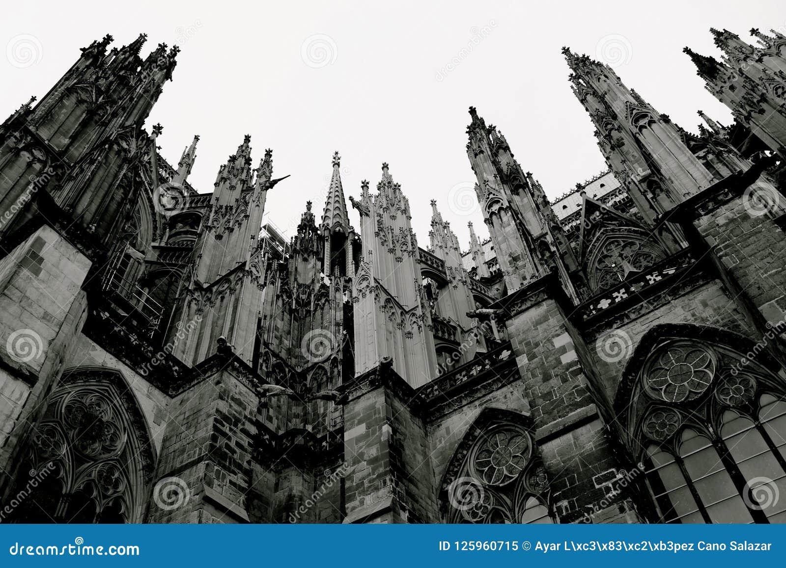 Style gothique de la cathédrale de Cologne, Allemagne