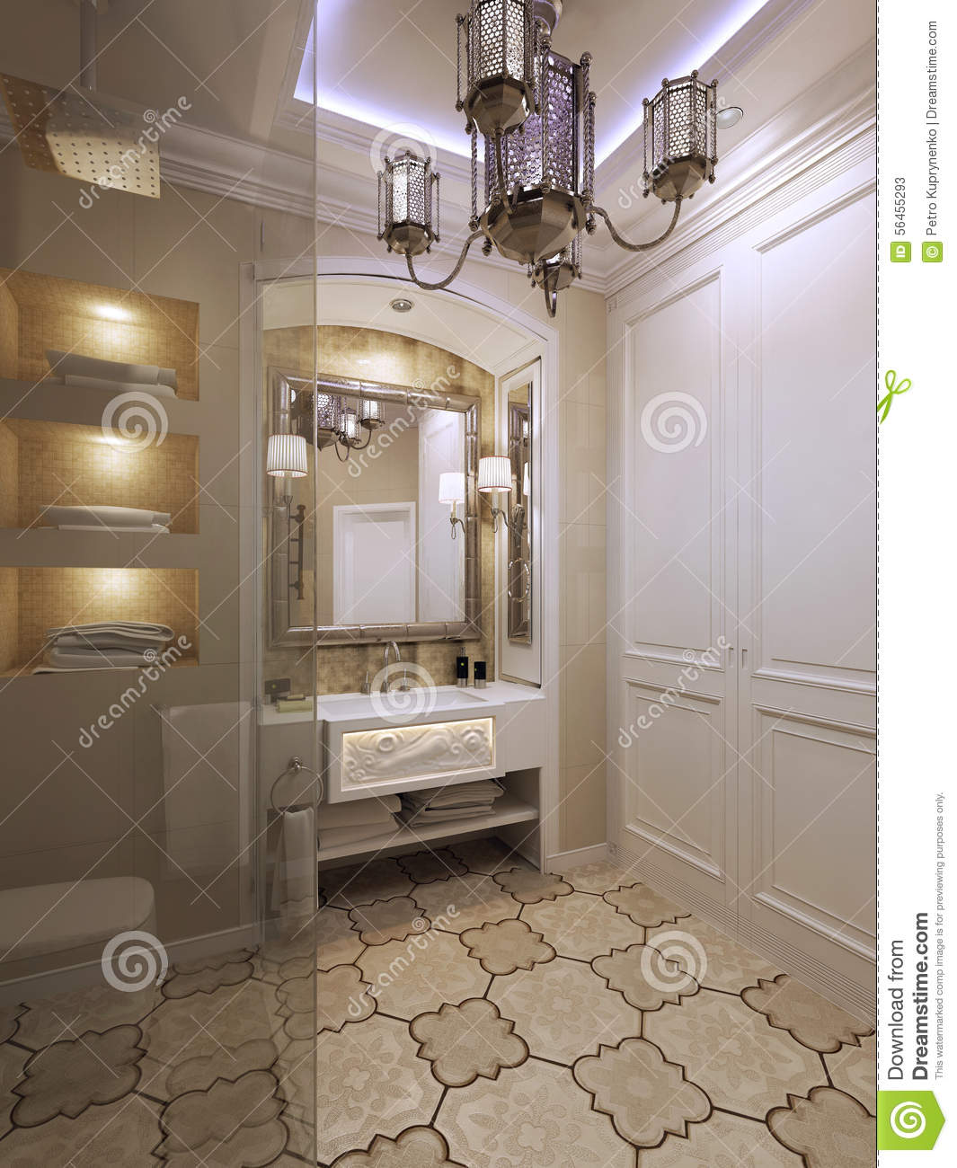 Salle de bain orientale for What does salle de bain mean