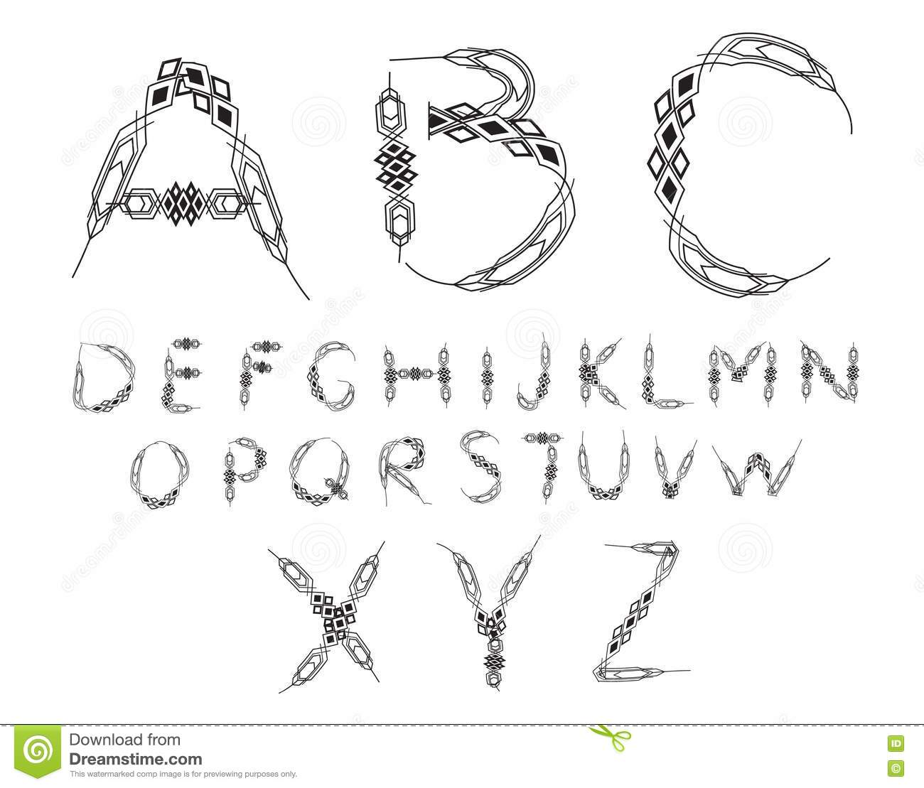 Alphabet Letters Images, Stock Pictures, Royalty Free