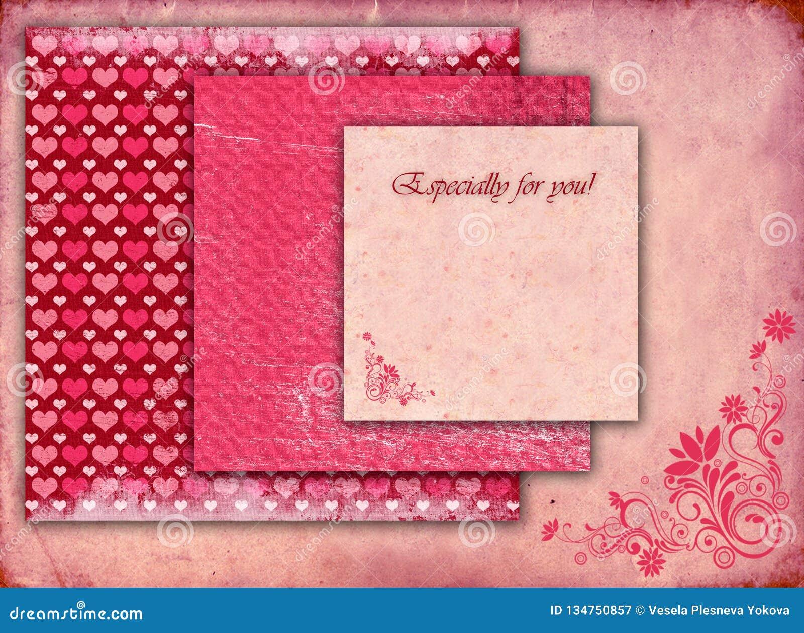 stylish beautiful valentine card stock vector