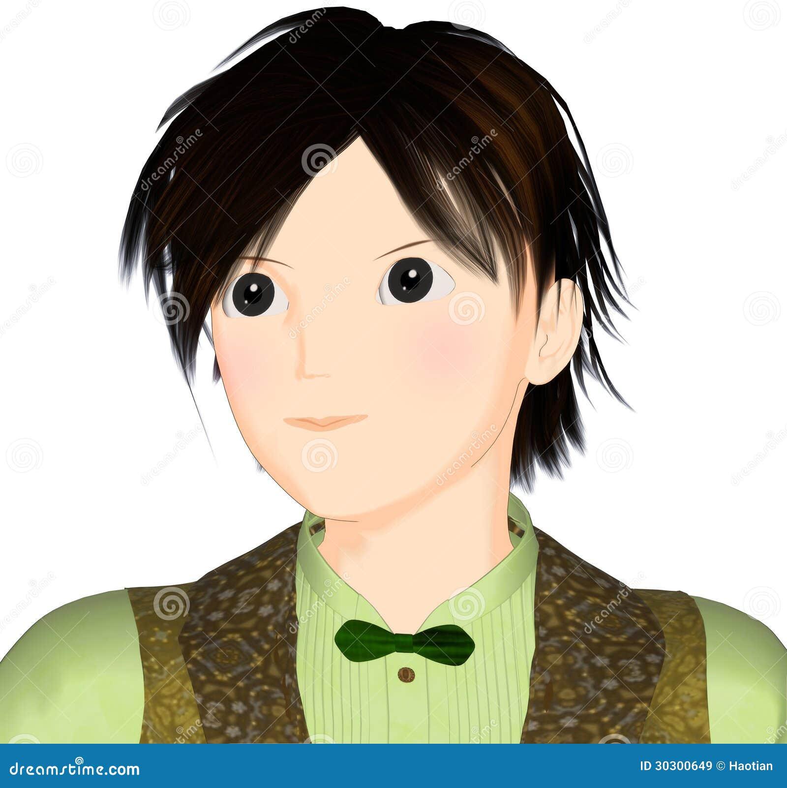 Stylish boy animation