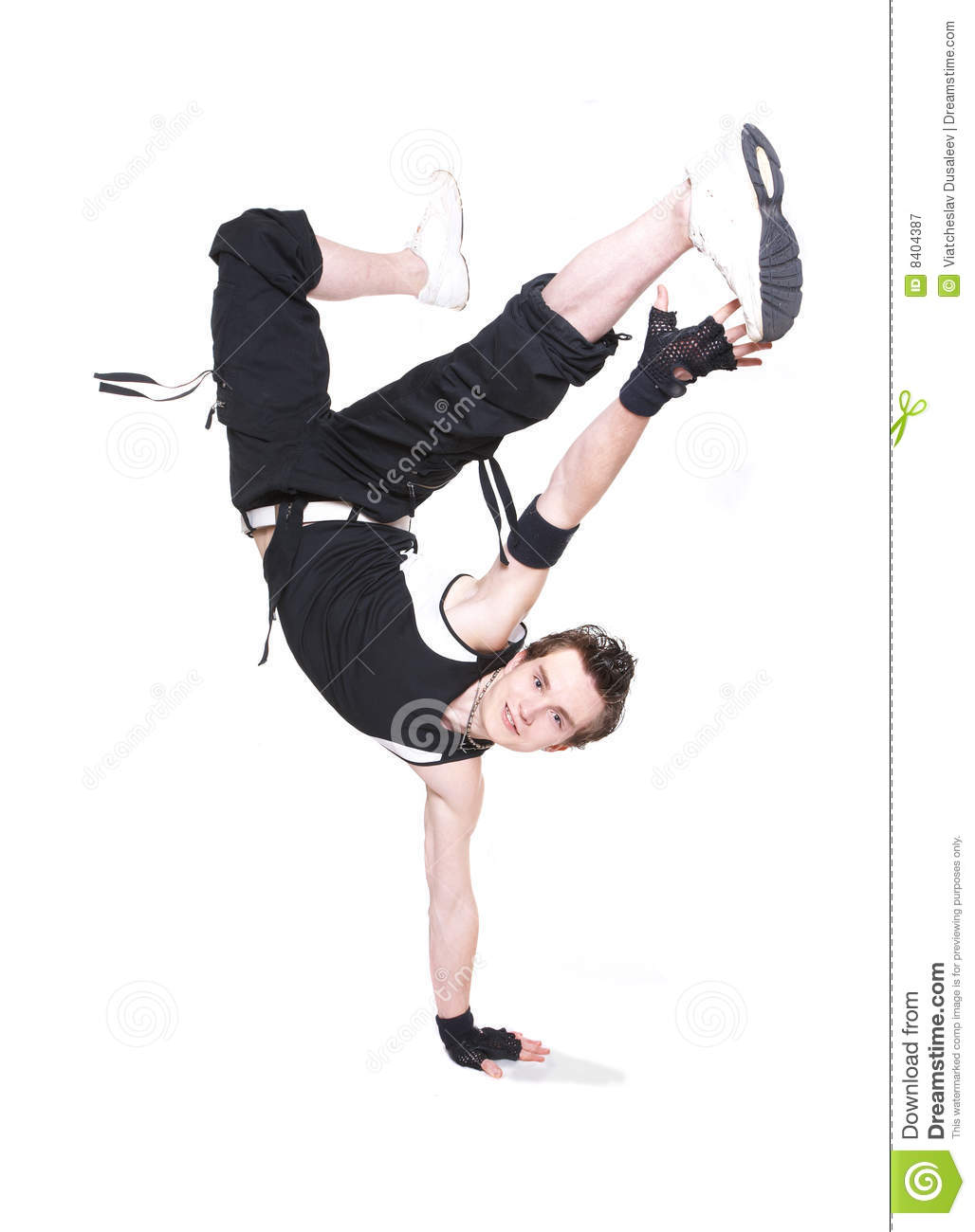 Stylish Break-dance Dancer. Royalty Free Stock Photography ...