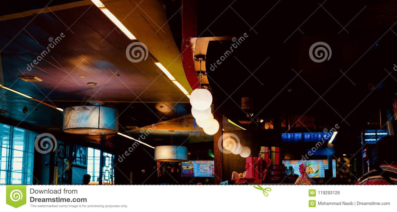 Download Beautiful Interior Ceiling Lights  Unique Photo Stock Photo - Image of lighting, lights: 119293126