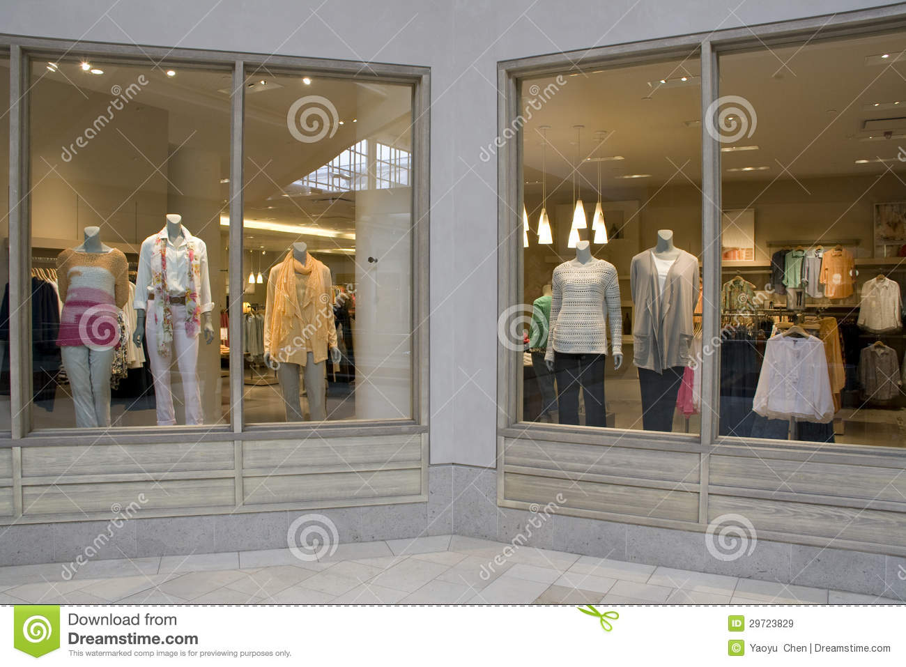 Stylish clothing store at Bellevue Square Mall
