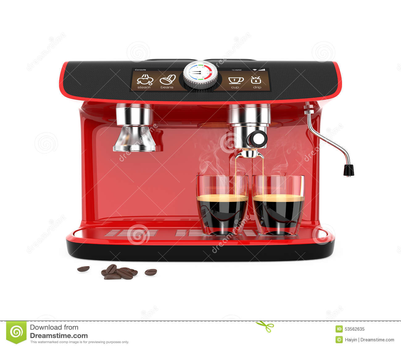 espresso machine glasses