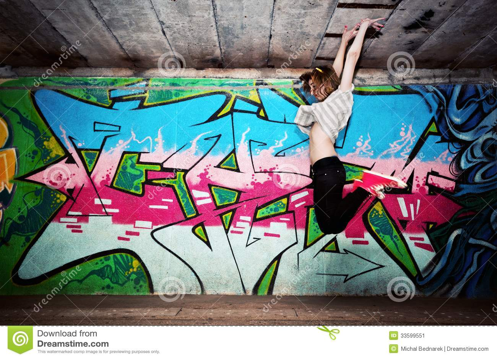 Идеи для фото с граффити