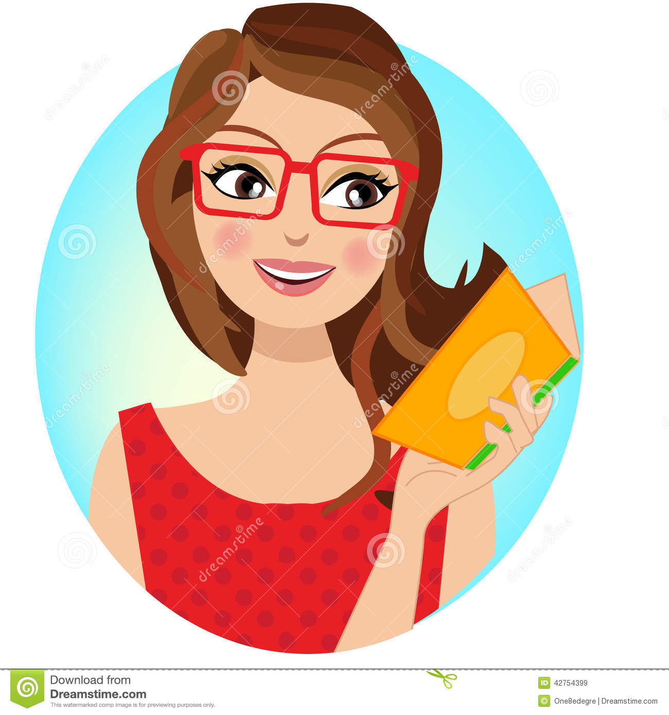 What I Blog About When I Blog About Books Notd Girl On: A Stylish Girl Holding A Book Stock Vector