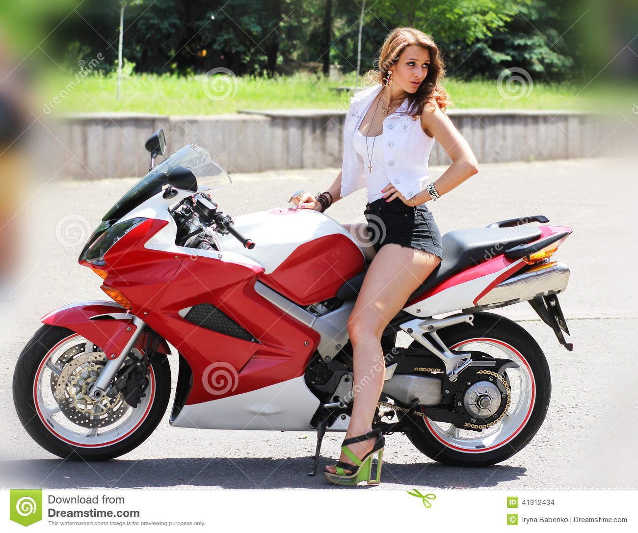 Motorcycle For Girl