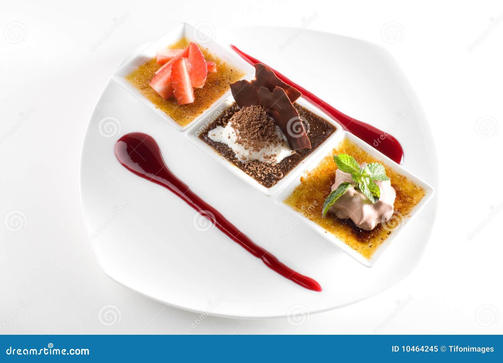 Stylish Gourmet Dessert Royalty Free Stock Photo - Image ...