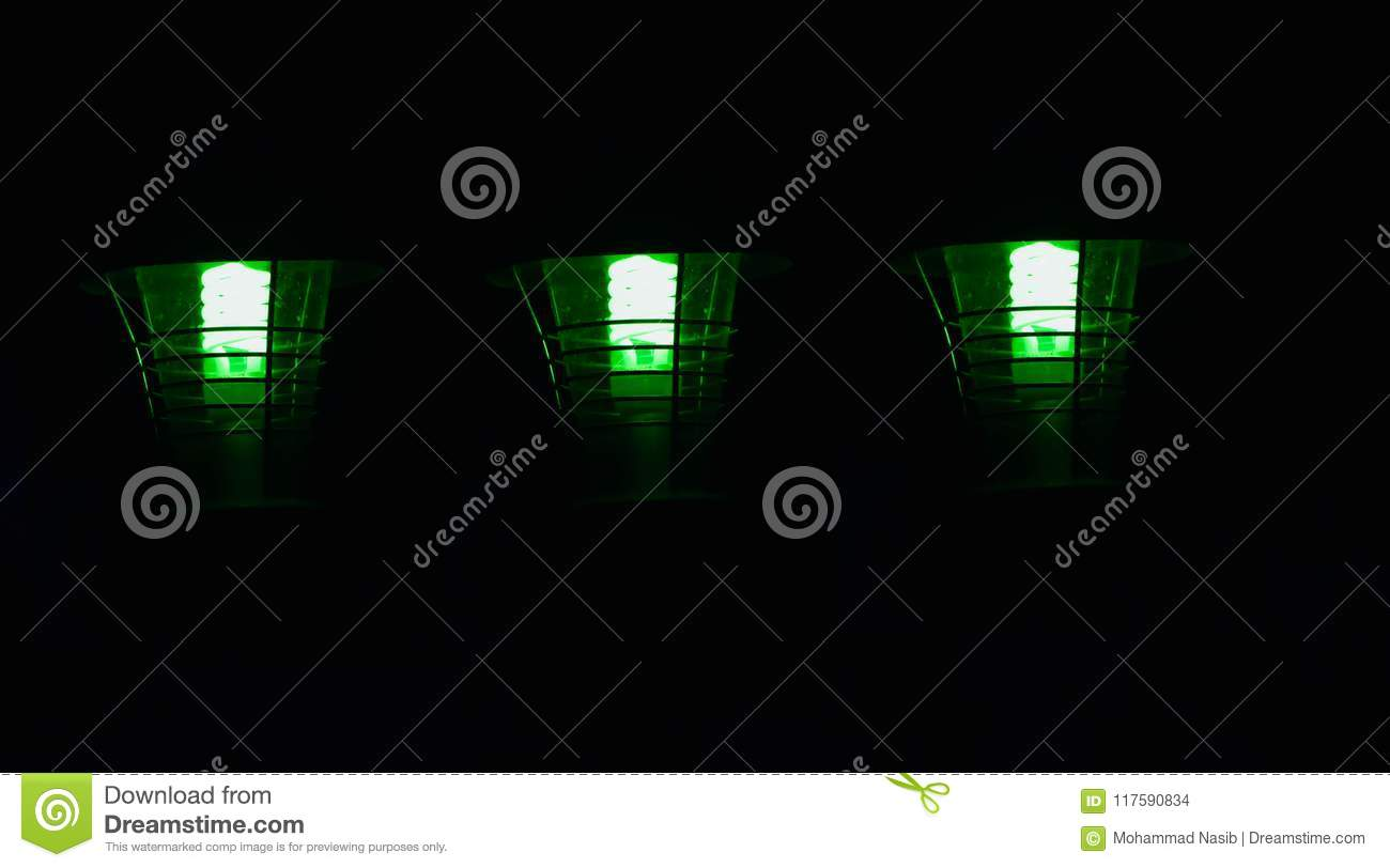 Download Stylish Green Road Lamps Isolated Object Unique Photo Stock Photo - Image of concept, images: 117590834