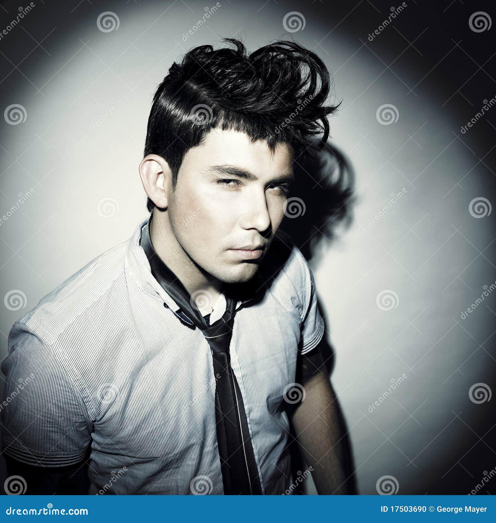 Stylish Handsome Men Stock Photo Image Of People Light 17503690