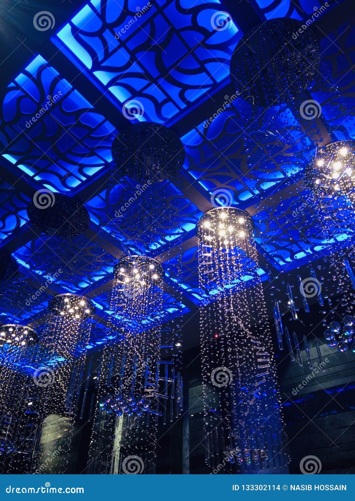 Beautiful hanging interior lights unique photo