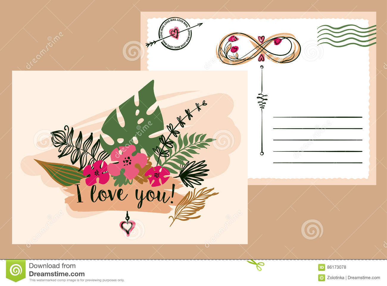 Stylish illustration with flower design for greeting cards flyer download stylish illustration with flower design for greeting cards flyer banner poster m4hsunfo