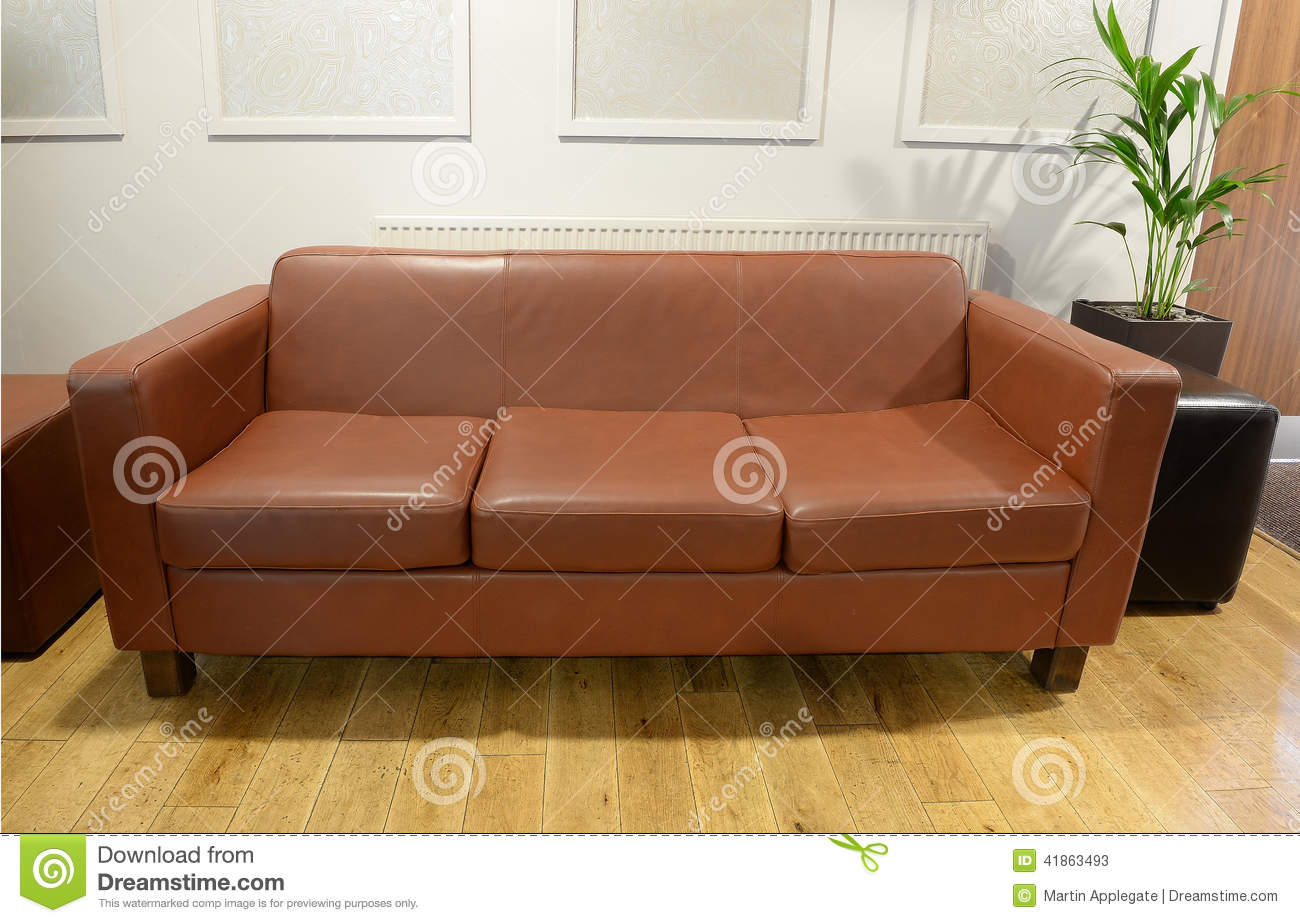 Stylish Leather Sofa Stock Image Image Of Sofa