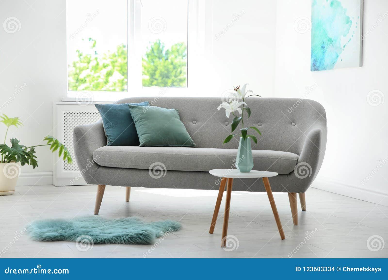 Großartig Sofa Mint Sammlung Von Stylish Living Room Interior With And Decor